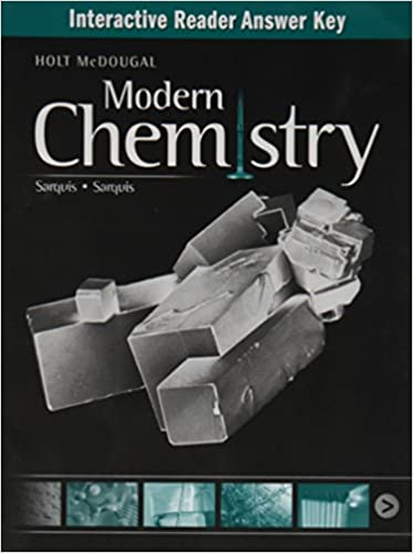 Amazon modern chemistry interactive reader answer key modern chemistry interactive reader answer key 1st edition fandeluxe Images