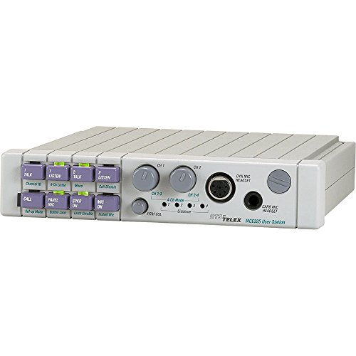 Bosch MCE-325A5F 2 OR 4 CHANNEL USER PROGRAMMABLE MODULAR USER STATION W/CALL SIGNALING, DUAL ACT