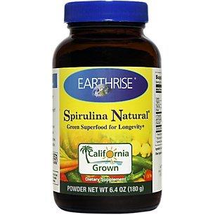 EARTHRISE Spirulina Powder 180 Gram, 0.01 Pounds