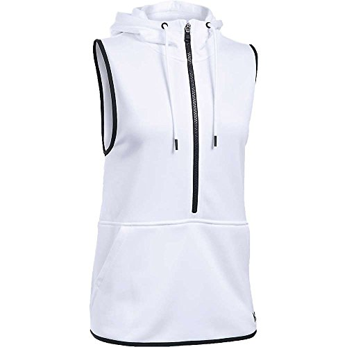 Under Armour Lightweight Storm Armour Fleece Vest - Womens White / Black / Black XL
