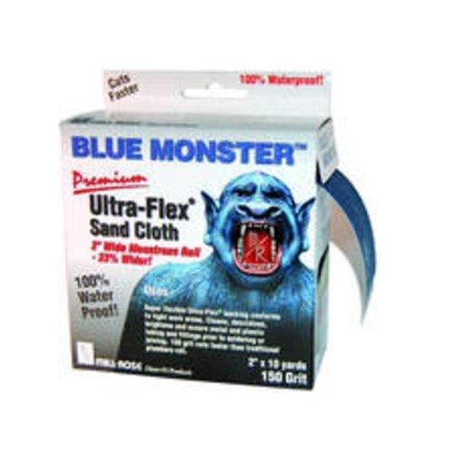 Mill-Rose 70174 Millrose Monster Ultra Flex Premium Mini Strips Abrasive Cloths, 2