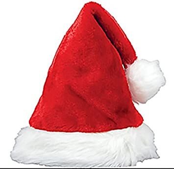 708e2767fb Luxury Festive Santa Claus   Father Christmas Hat  Amazon.co.uk ...