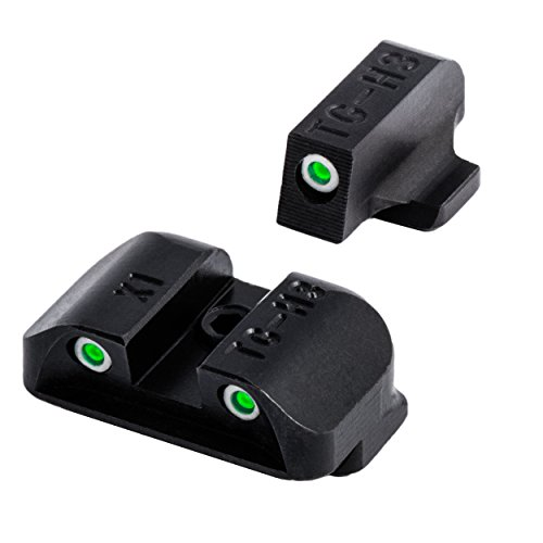 TRUGLO Tritium Handgun Glow-in-the-Dark Night Sights for Springfield Pistols, Springfield XD, XDM (excluding 5.25'' Comp Series) and XDS by TRUGLO