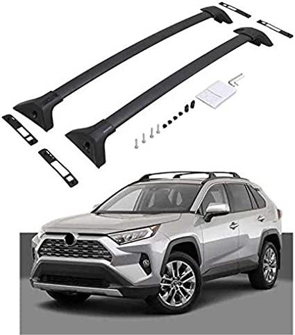 Amazon Com Heka For Toyota Rav4 2019 2020 Cross Bar Crossbar Roof