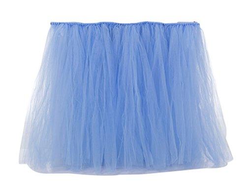 Dcoration pour Fte Fte Lake de Jupe de Mariage Dcorations d'anniversaire Table LaoZan en Table Tulle Bleu Tutu PvOqTS4nxw
