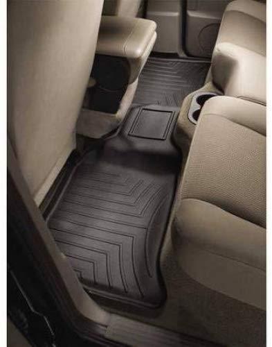 440932 WeatherTech Custom Fit Rear FloorLiner for Toyota Tundra Black