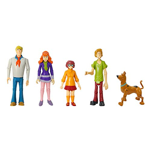 Scooby Doo Scoobydoo Mystery Mates Figure 5Pack Mystery Solving Crew, Multicolor ()