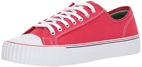 PF Flyers Men's Center Lo Fashion Sneaker, Red, 5.5 D US