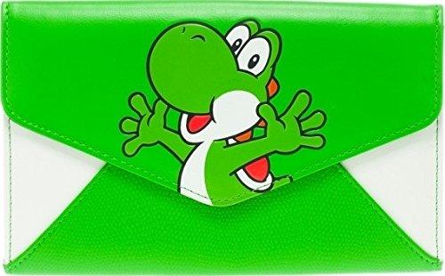 Nintendo Yoshi Envelope Chain Clutch Wallet