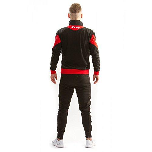 Football Noir Marte Rouge Jogging Training Survêtement Zeus Running S7WcgTg6