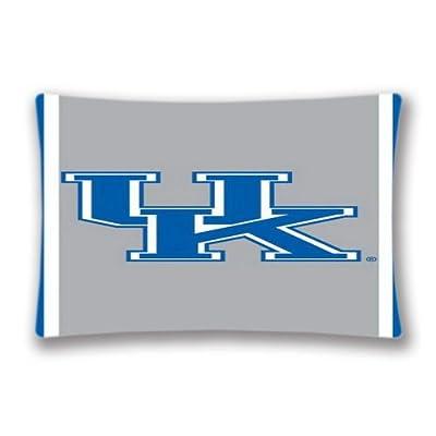 "Generic Sports Theme Pillow Case Throw Pillow NCAA Kentucky Uk Striped Rectangle 20""x30"" Throw Pillows Cover"