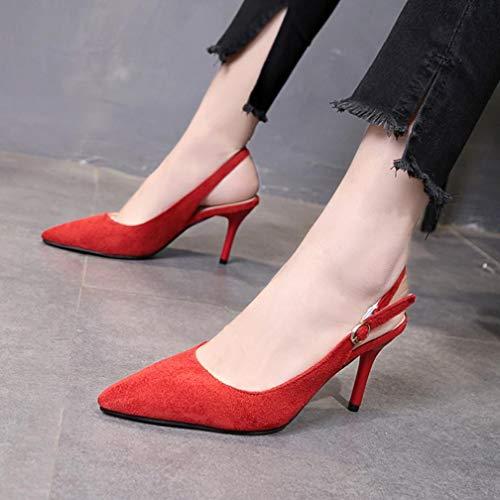 tal Zapatos Alto del Vestir de w4wqARB