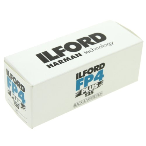 Ilford FP4 Plus, Black and White Print Film, 120 (6 cm), ISO 125 (1678169)