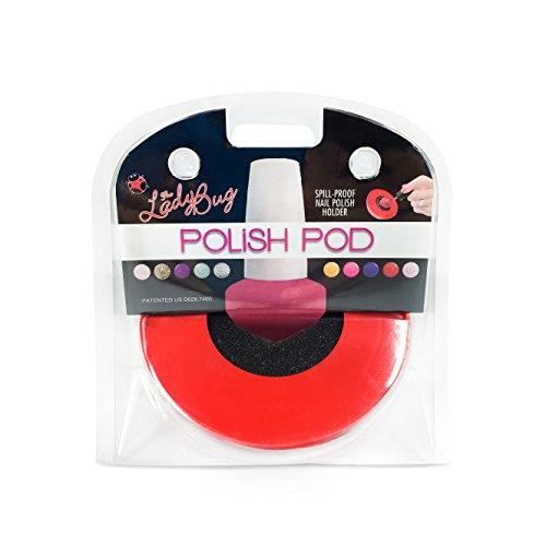 The LadyBug Polish Pod - Bliss Kiss