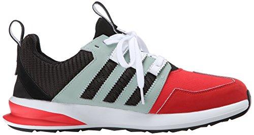 Adidas Mens Sl Black Runner Fashion Sneaker Pomodoro Nero Opaco Argento
