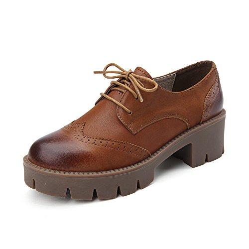 British air botas de cuero suave mujer/Torta de Dama y zapatos/ Zapatos de Bloch/Zapatos de mujer vintage B