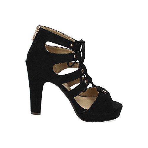 Femme Femme Noir Noir Xti Femme Sandales Sandales Xti Sandales Xti qU11C5