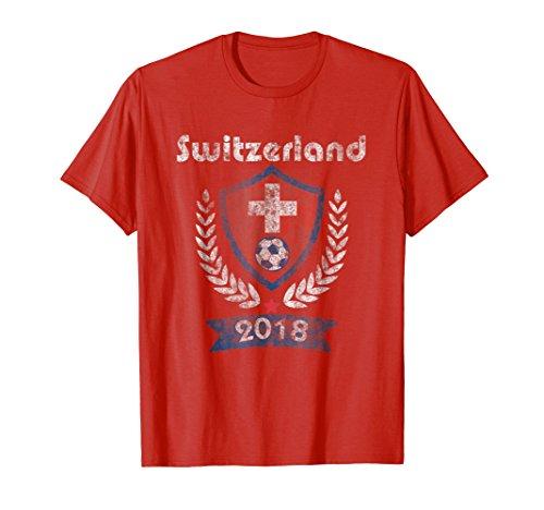 Switzerland Soccer shirt Team Russia 2018 TShirt Football