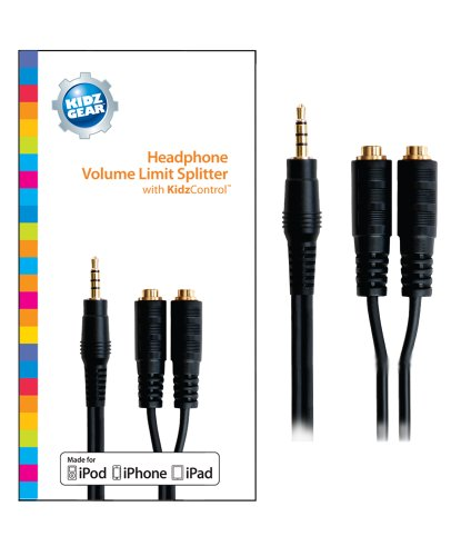 (Kidz Gear Volume Limit Splitter Cable)