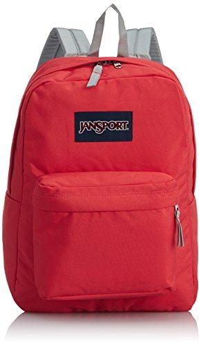 JanSport Superbreak Backpack - Coral Dusk / 16.7H x 13W x 8.5D (Jansport Backpack In Coral)