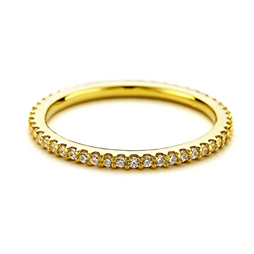 PAVOI Sterling Zirconia Eternity Stackable product image