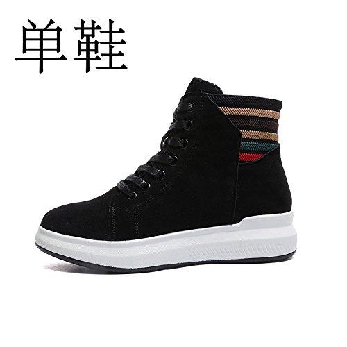 GUNAINDMXShoes/Sports/Casual Shoes Shoes/New/All-Match /. Black single shoe