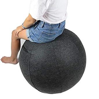 Amazon.com: Sillón de bola de estabilidad para oficina con ...