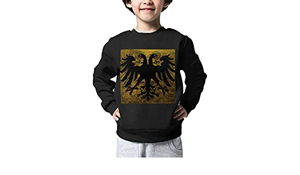 Boys Girls Vintage Holy Roman Empire Flag Lovely Sweaters Soft Warm Childrens Sweater