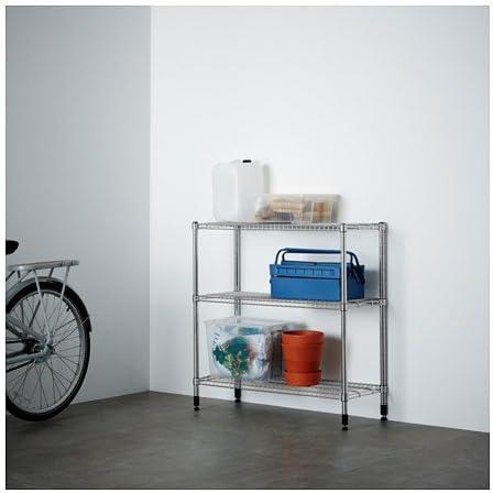 Ikea Omar - Estanterías Unidad, galvanizado - 92x92x36 cm ...