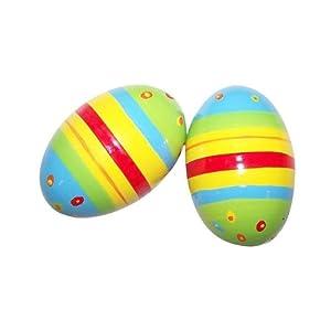 Amazon.com: Sassafras Kids Striped Shaker Eggs: Toys & Games