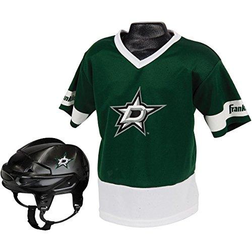 Halloween Costumes Dallas (Franklin Sports NHL Dallas Stars Youth Team Uniform)