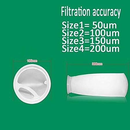 Amazon.com : Aprettysunny 50/100/150/200 Micron Aquarium Fish Tank Marine Sump Felt Pre Filter Sock Bag : Pet Supplies