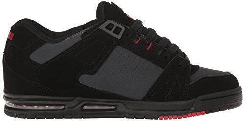 Der Säbel-Skate-Schuh der Kugel-Männer Schwarz / Phantom / Rot