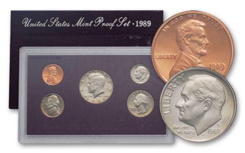 (1989 United States Mint Proof Set Original Government Packaging Superb Gem Uncirculated)