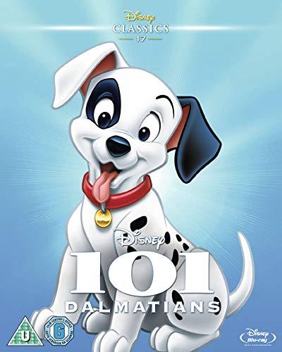 101 Dalmatians [Blu-ray] [1961] [Region Free] (Movie Frozen Arabic)