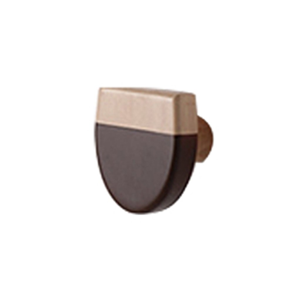 LIANGJUN スカーフ 帽子 ウォールハンガー 無垢材 リビングルーム 6パック、 直径8cm、 7種類の可用性 ( 色 : 5# ) B07B3VTDVY5#
