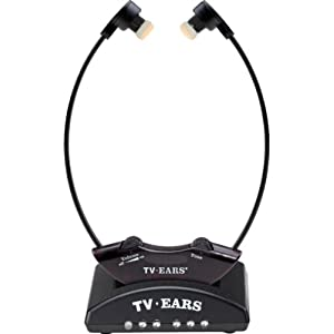 TV Ears 330-0123 2.3 Wireless Headset System, Black