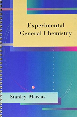 LSC  (SAINT LOUIS UNIVERSITY) :  EXPERIMENTAL GENERAL CHEMISTRY