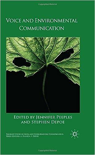 Téléchargement gratuit de livres électroniques google Voice and Environmental Communication (Palgrave Studies in Media and Environmental Communication) (2014-07-10) in French PDF iBook
