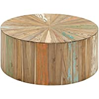 Deco 79 90904 Reclaimed Wood Coffee Table, 38' x 16', Brown