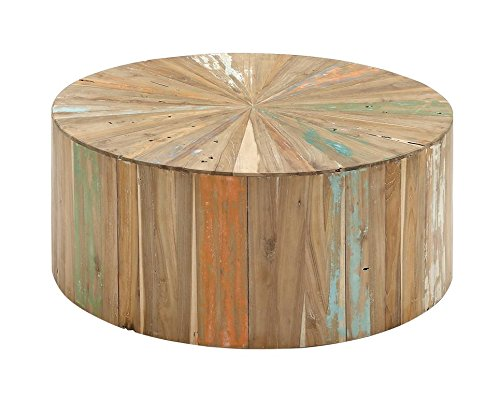 Deco 79 90904 Reclaimed Wood Coffee Table, 38'' x 16'', Brown by Deco 79