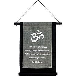 New Age Source Small Cotton Banner - Dalai Lama