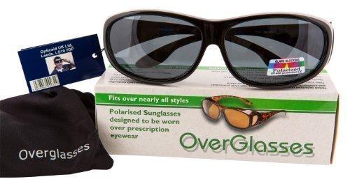 conduite Surlunettes vos Noir par dessus verres lunettes à polarisants à porter nuit pour correctrices Opticaid de 74ydqc4