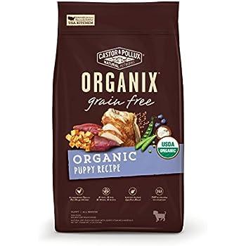 Castor & Pollux Organix Grain Free Organic Puppy Recipe Dry Dog Food 4lb