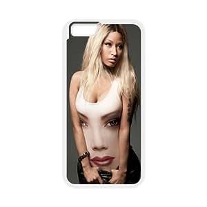"YUAHS(TM) DIY Cover Case for Iphone6 Plus 5.5"" with Nicki Minaj YAS894221"
