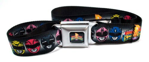 Power Rangers Seatbelt Belt (Power Ranger Belt)
