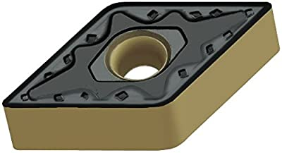 """Walter Tools DNMG110404-NM4 WSM20 Carbide Tiger-Tec Negative Indexable Turning Insert, 1/64"""" Corner Radius, 3/8"""" IC, 3/16"""" Thick, 0.020"""" - 0.079"""" Depth of Cut (Pack of 10)"""