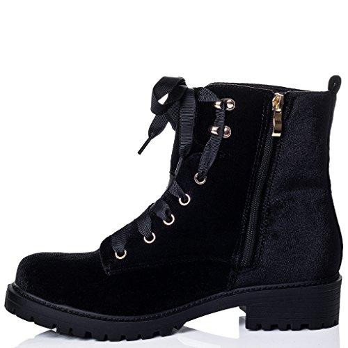Schnür Blockabsatz Stiefeletten Schuhe Synthetik Samt Gr 36 Spylovebuy Spielraum Zahlung Mit Visa Vorbestellung Günstig Online GYzRNUw