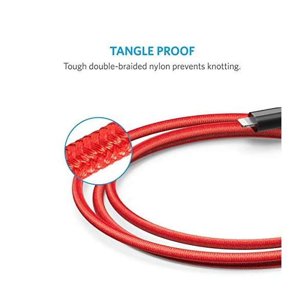 Anker-2-Pack-Powerline-Lightning-Cable-3ft-Durable-and-Fast-Charging-Cable-Aramid-Fiber-Double-Braided-Nylon-for-iPhone-XsXS-MaxXRX-88-Plus-77-PlusiPad-and-More-Red