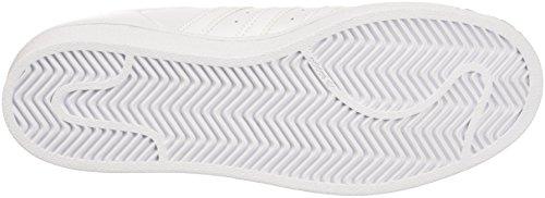 Adidas Superstar Glossy, Zapatillas Mujer Blanco (Ftwwht/Ftwwht/Cblack)